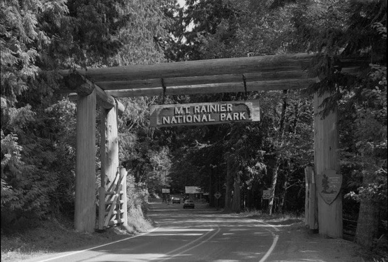 Nisqually Entrance, Mount Rainier National Park
