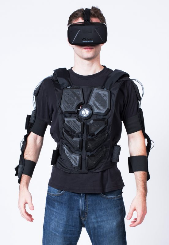Some companies are exploring the possibility of full-body haptic suits.