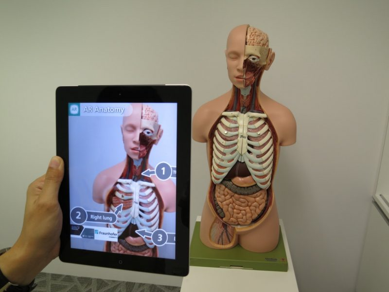 VR is already being used in the medical fields to help with education and development.