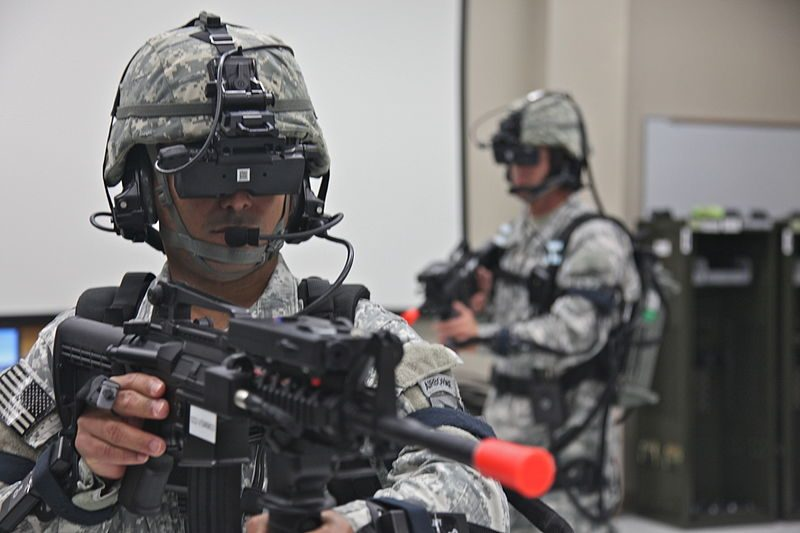 The military is intentionally developing this technology to train soldiers in lifelike combat scenarios. Is that a technology you want to give to your kids?
