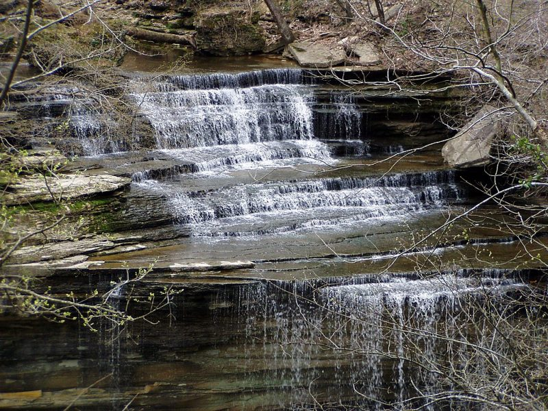 Clifty Falls, Clifty Falls State Park, Indiana – Author: Chris Light – CC BY-SA 3.0