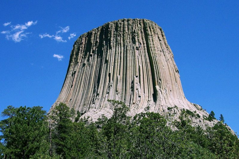 The amazing Devil's Tower