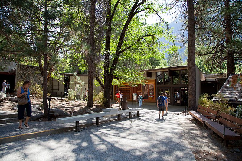 Yosemite Village is a quaint mixture of new and old.