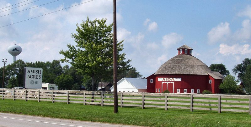 Amish Acres, a popular tourist attraction in Nappanee – Author: Tysto – CC-BY 2.0