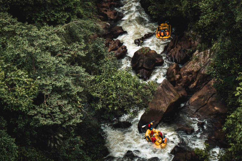 Rafting is a lot of fun and if you go with a guide, there's no experience necessary.