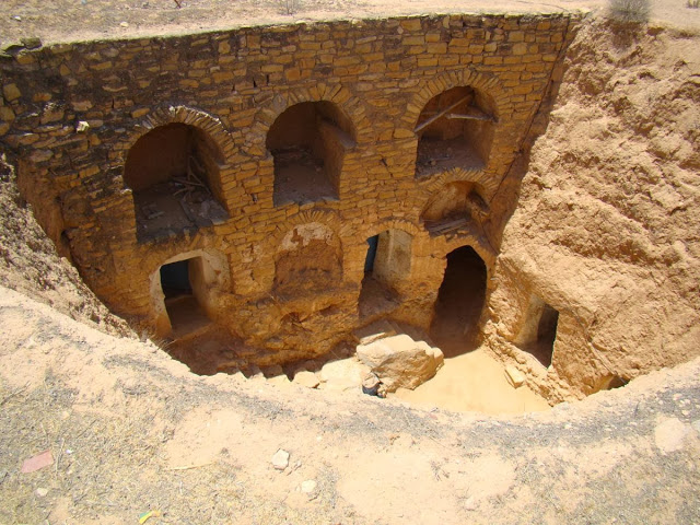 Matmata, cave dwelling – Author: Leon petrosyan – CC BY-SA 4.0