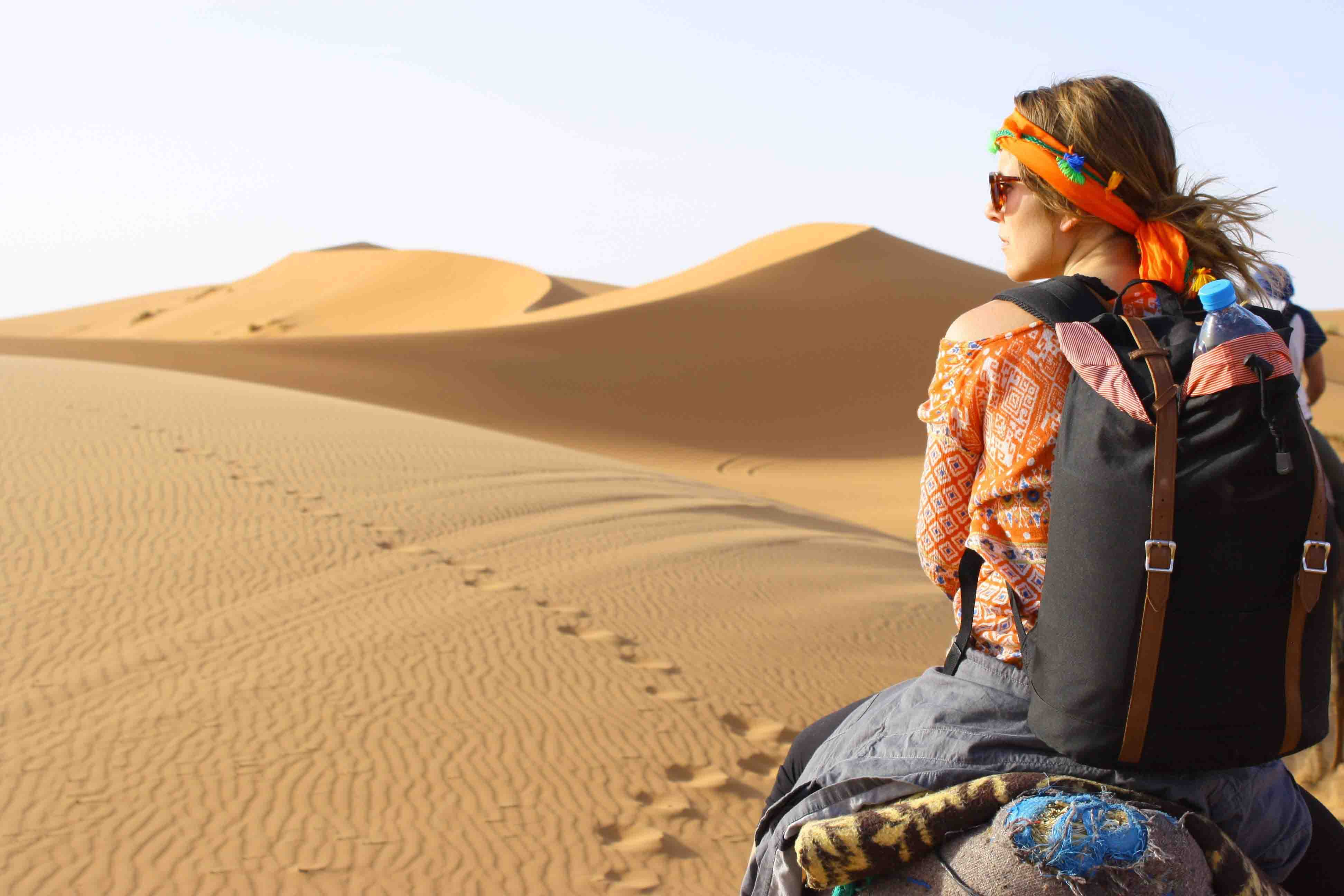 Explore the desert.