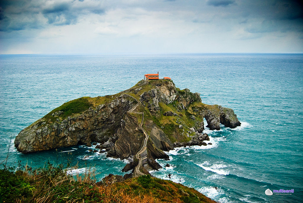 Gaztelugatxe is a great place to go - Author: multisanti - CC BY-SA 2.0