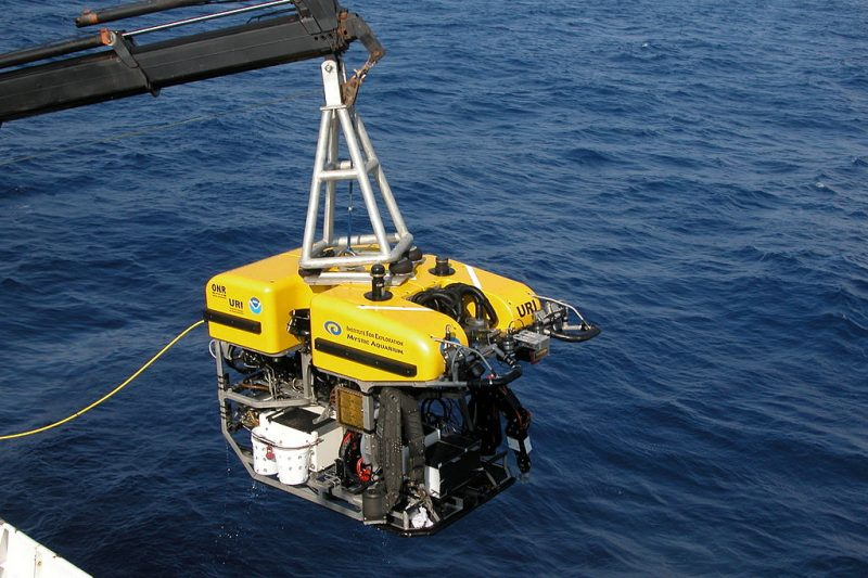"The science ROV ""Hercules"" used for deep-sea exploration"