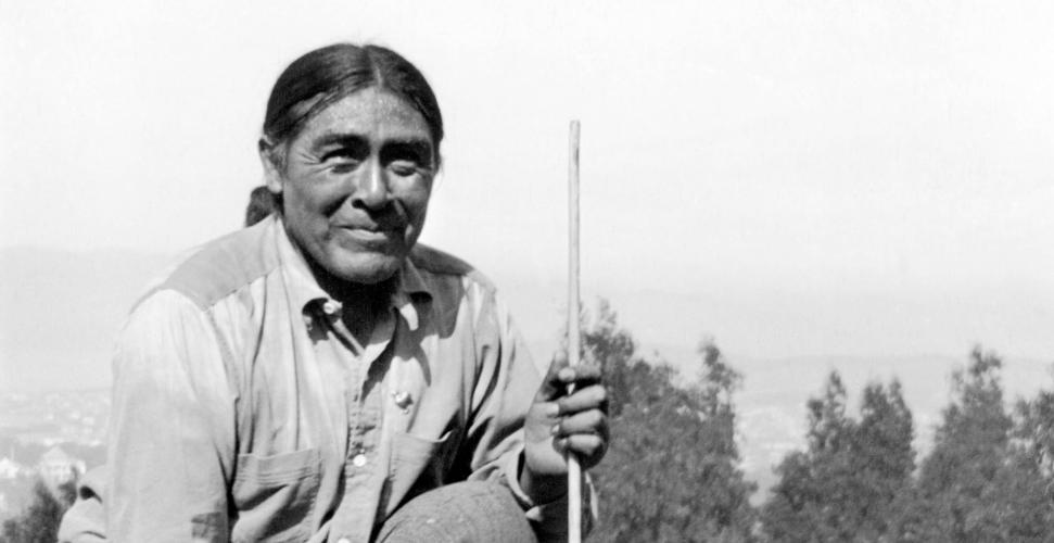 ". In 1911, starving and in mourning, Ishi ventured into the town of Oroville in search of food. He became an overnight sensation, with newspaper headlines across the country trumpeting the discovery of the man they called the ""last wild Indian."""