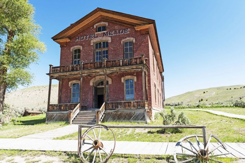 Bannack is considered to be one of the best-preserved ghost towns in the country