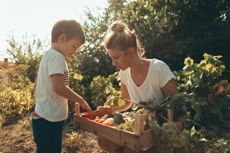 Self-sufficiency can be hard but rewarding