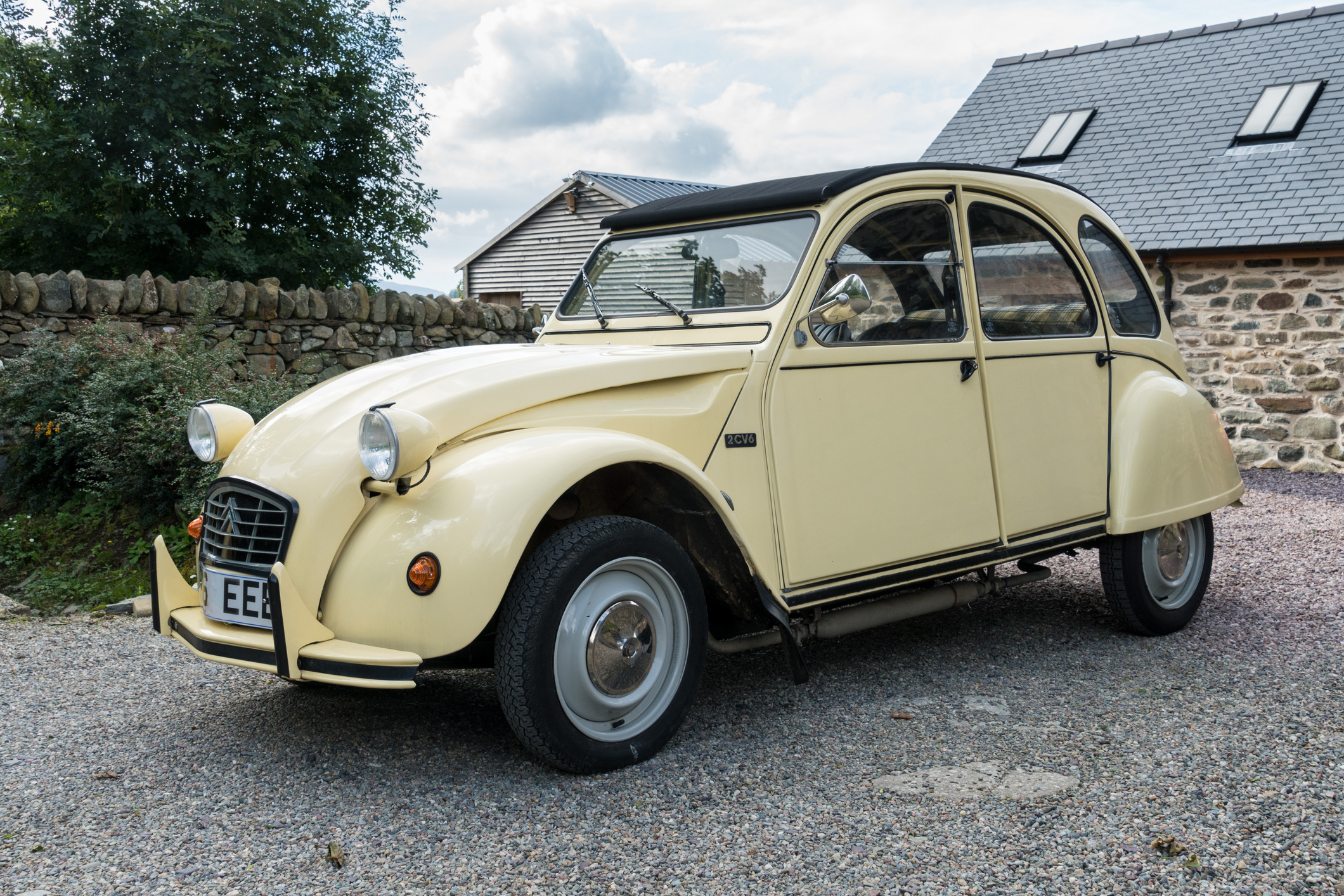 """In Africa they call [The 2CV] the 'Steel Camel' because it goes everywhere"""