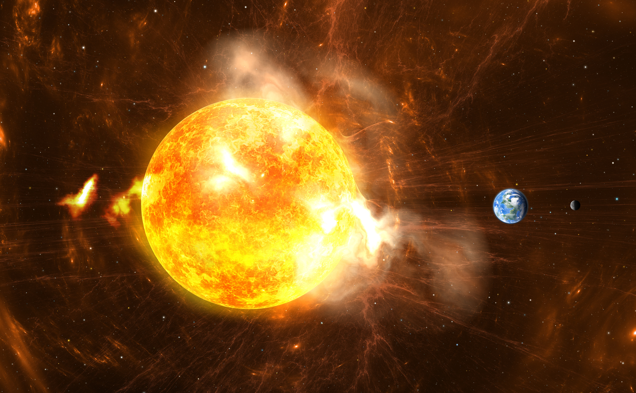 solar storm gamma radiation - photo #37
