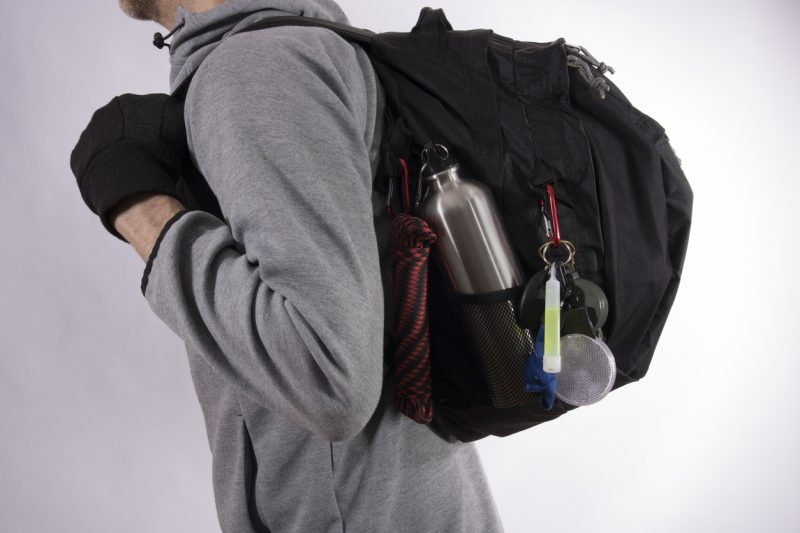 A bugout bag is an essential piece to have ready.