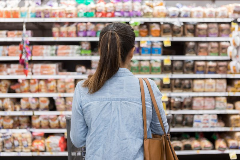 Buy food that has a long shelf life of at least one year or more