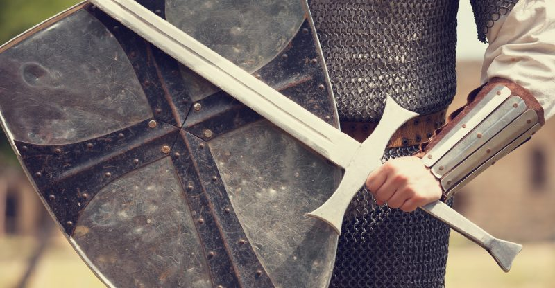 While swords are technically melee weapons too, a good sword is much more difficult to make than an ax or war hammer