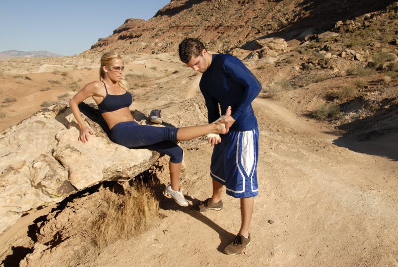 Ensure that the injured person limits their mobility