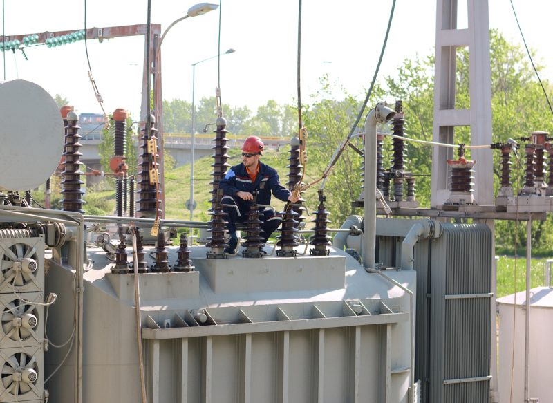 The damaged power transformers would take several years to be repaired