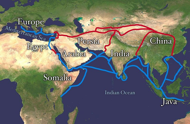 Probably the most famous trade route of history was the Silk Road