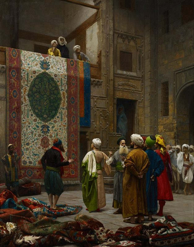 The Carpet Merchant by Jean-Léon Gérôme, c 1887
