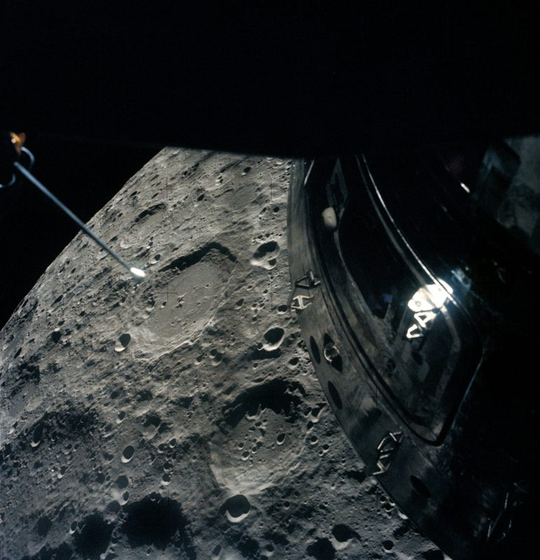 """The three-man crew of Apollo 13 were stranded that distance from home when their spacecraft veered off course, but they managed to """"slingshot"""" their vessel back home with no casualties."""