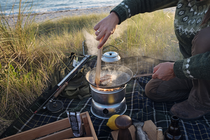 Bring a camp stove as a backup option