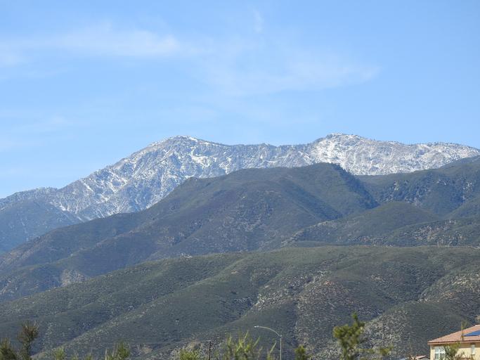 Cucamonga Peak in the San Gabriel Mountains