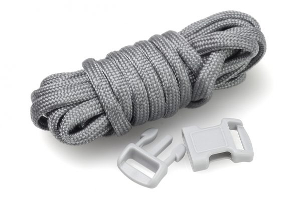 Paracord belongs in any survival kit, including a homemade kit consisting of everyday items