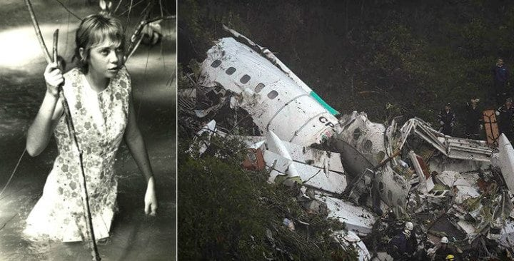 Juliane Koepcke had not one but two close calls when she survived a plane crash in 1971