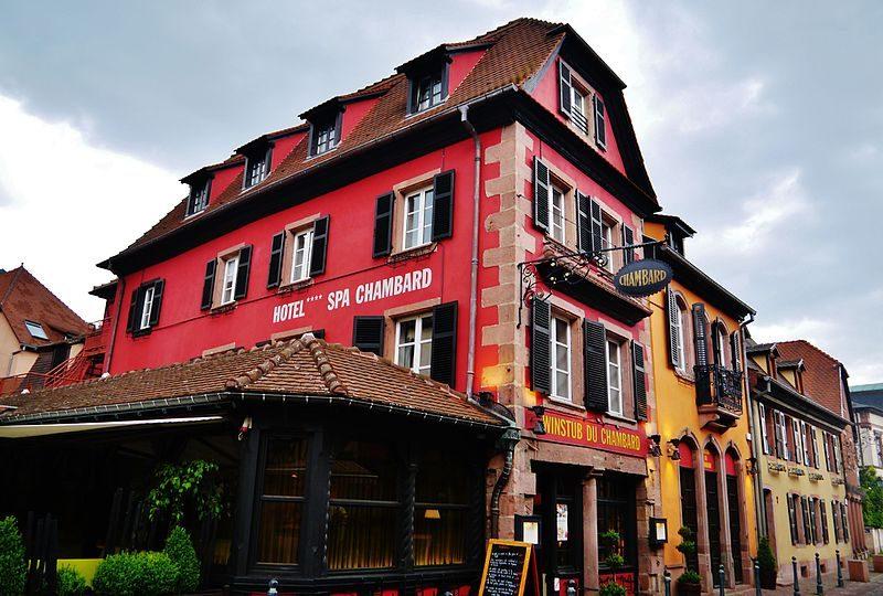 Hotel Chambard in Kaysersberg, where Bourdain was found dead – Author: Zairon – CC BY-SA 4.0