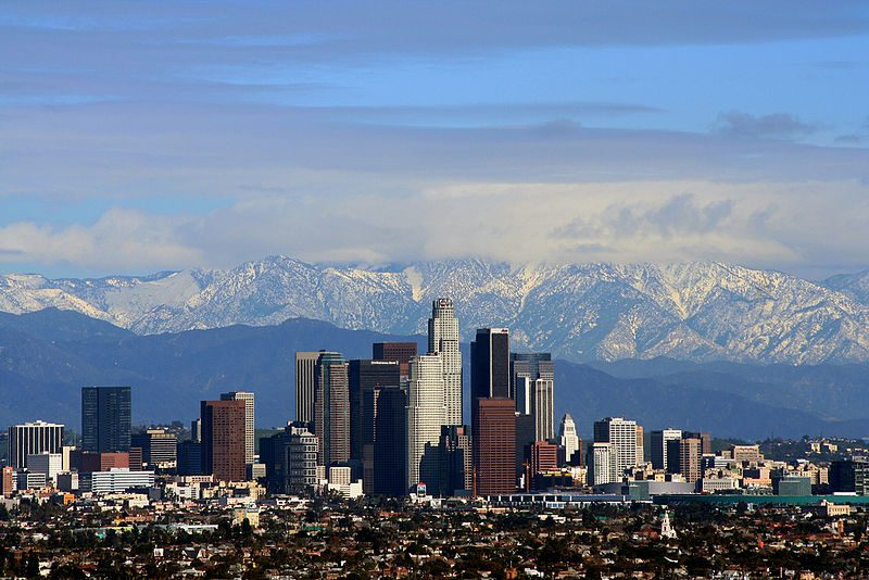 San Gabriel Mountains east of downtown Los Angeles – Author: Todd Jones – CC BY 2.0