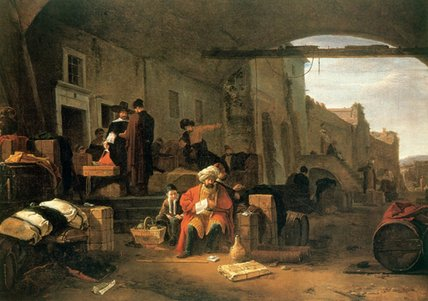 Localized merchants in Medieval Europe made a good living