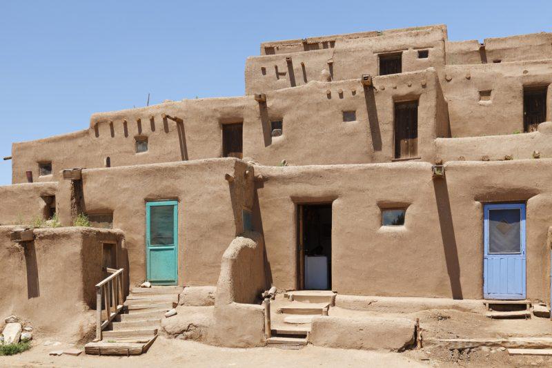 Pueblo architecture, Taos, New Mexico