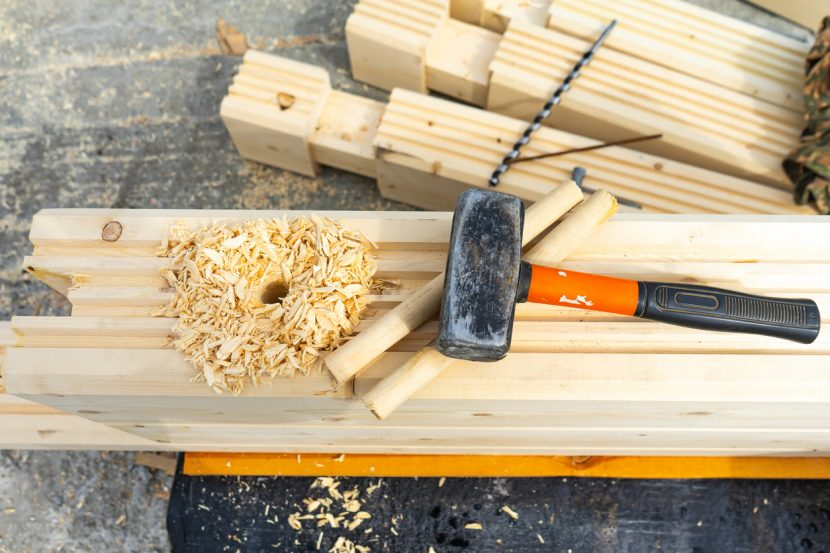 Before Nails, There Was Pegged Wood Construction