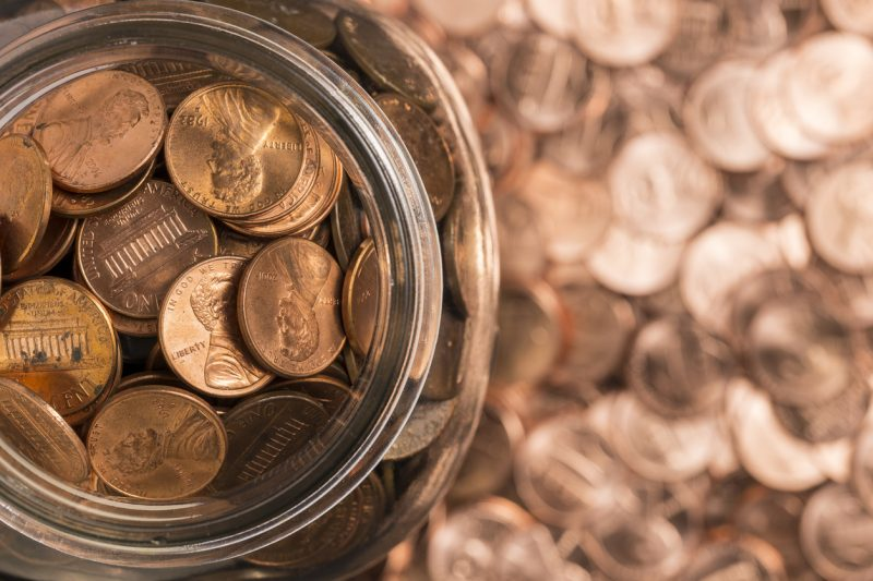 Pennies that are made out of copper actually hold more value in terms of copper than one cent