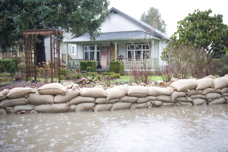 Sandbags are the best form of home defense protection that you can have