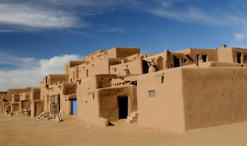 Taos Pueblo in Taos, New Mexico