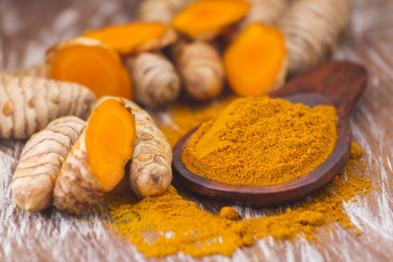 Ground turmeric is a natural antiseptic and antibiotic. Apply it directly to a bleeding wound and immediate clotting will occur