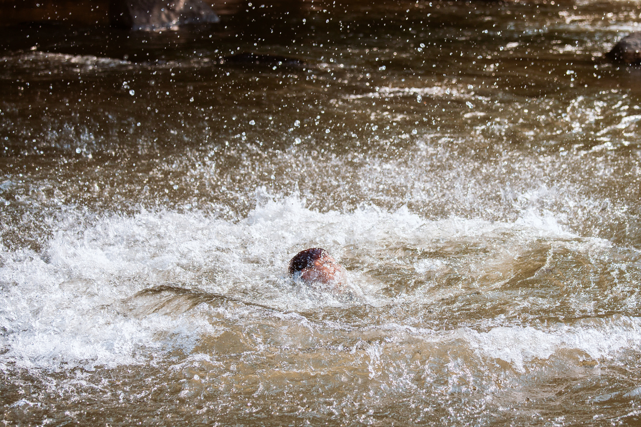 What To Do If You Fall Into A Raging River