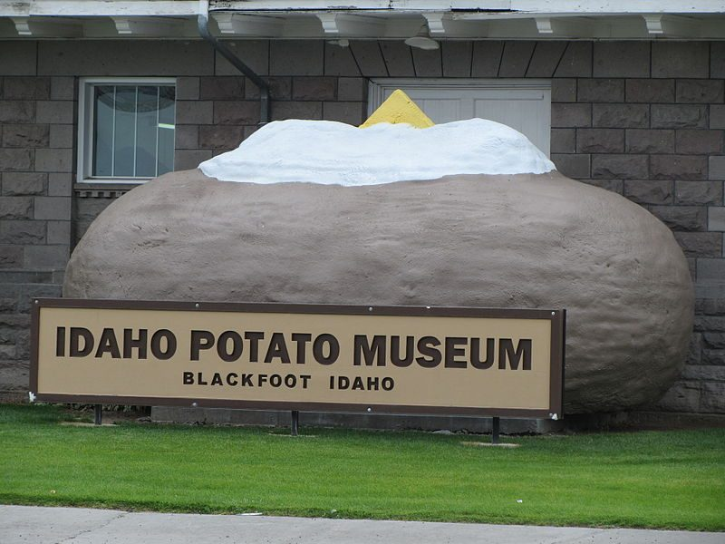 According to the Idaho Potato Museum, the Snake River provides the perfect conditions for potatoes to grow