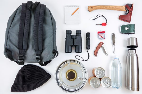 An alternative (or addition) to the survival cache is a get-home cache: basic survival items that you use to keep yourself alive to get back home