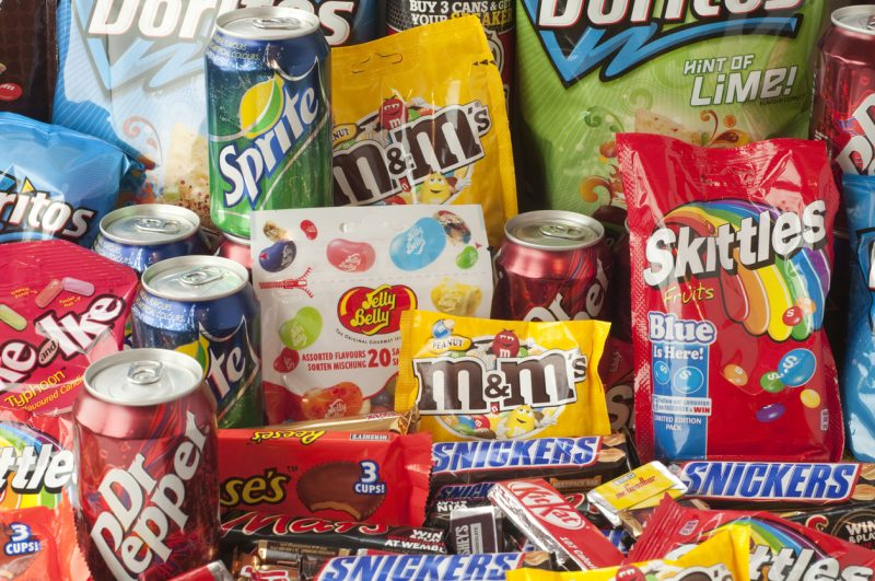 Enter junk food in all of its calorie-dense, greasy, and sugary glory