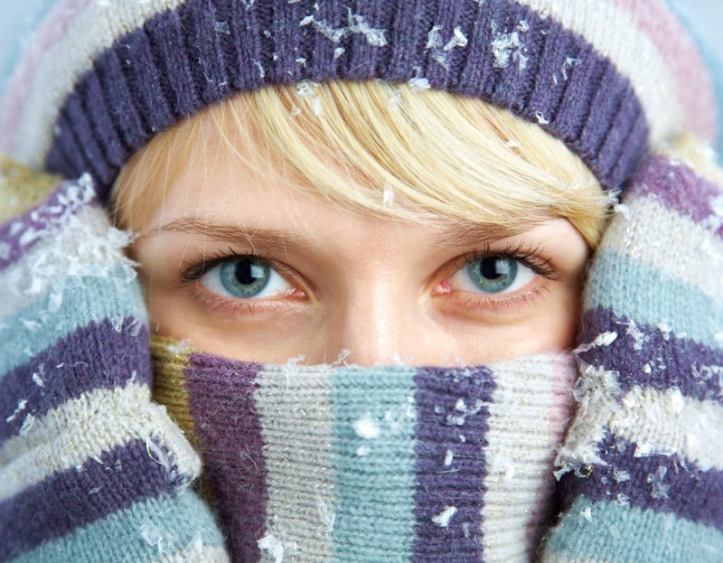 A warm hat will prevent a large amount of heat from escaping the body.