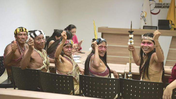 Amazon Tribe Wins Lawsuit Against Big Oil/ Photo Credit: Disclose TV