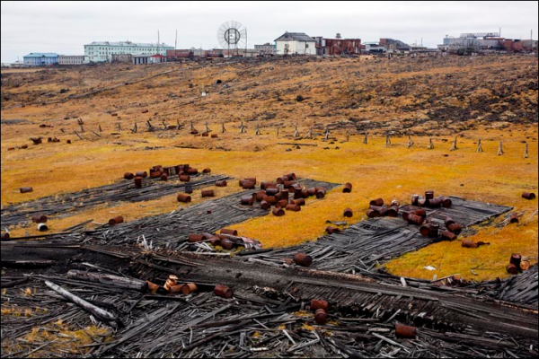Could take another 15 years to clear up the Soviet junk. Liza Udilova/Greenpeace