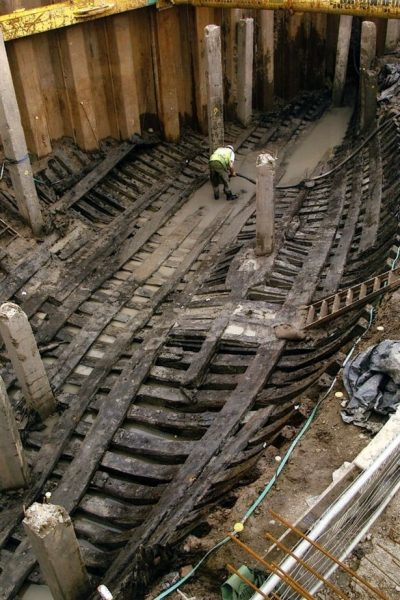 The amazing medieval ship. Credit: NEWPORT MUSEUMS AND HERITAGE SERVICE