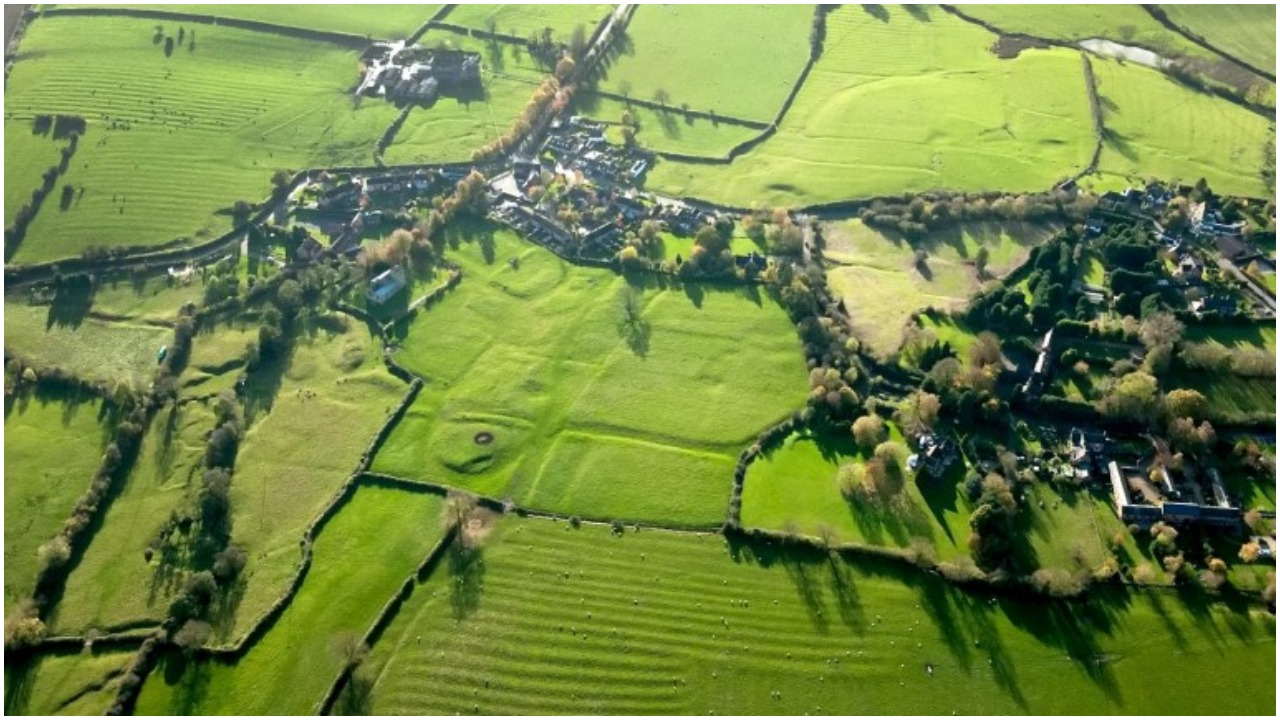 Withybrook medieval village. Credit: Historic England