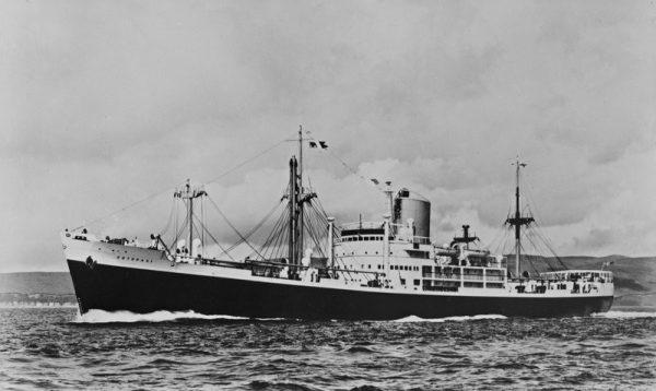 SS Cotopaxi, built in 1918 and lost at sea near St. Augustine Florida in December 1925