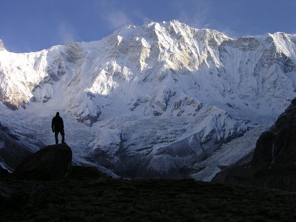 Annapurna Sanctuary in the Nepalese Himalayas